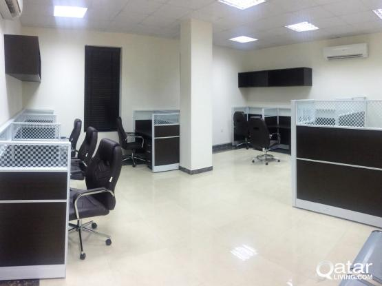 Fully -Furnished,  1 Room Office - Salwa Road