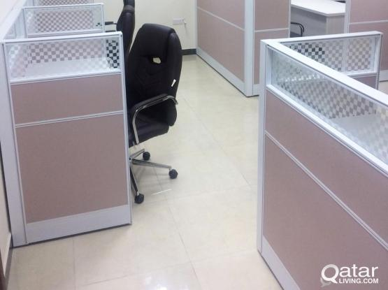 Fully -Furnished,  1 Room Office In  Salwa Road