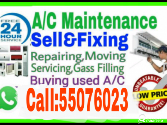 Buying used A/C  SaIe and Fixing CaII55564206