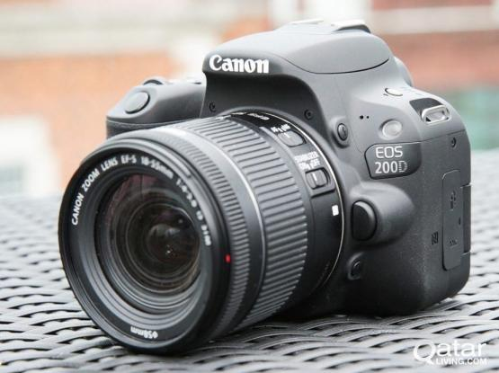 Canon 200 D DSLR Like new with Tamron 17-50 mm 2.8 lens