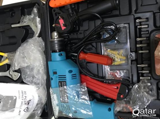 Drill machine sets