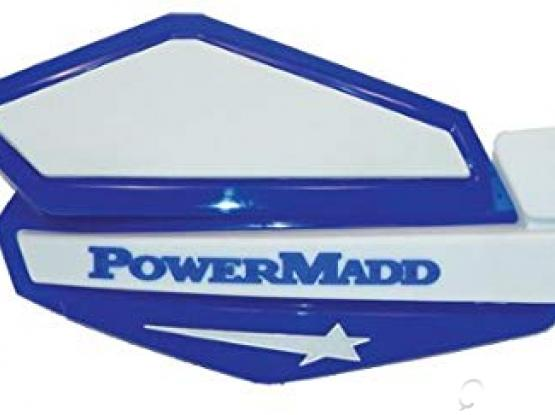 PowerMadd 34231 Star Series Handguard - Blue/Silver