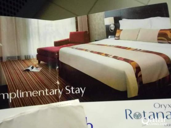 hotel oryx rotana voucher tickets