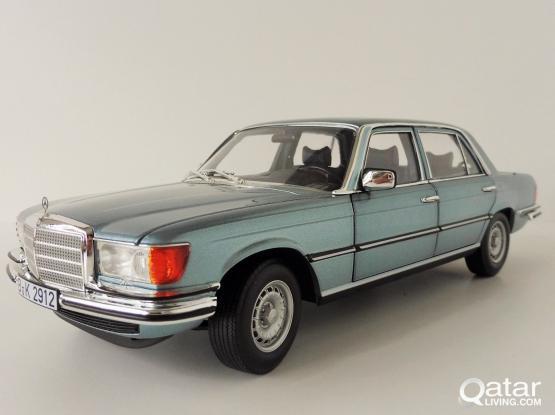1:18 MB 450SEL greyblue model car