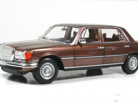 1:18 MB 450SEL Brown model car
