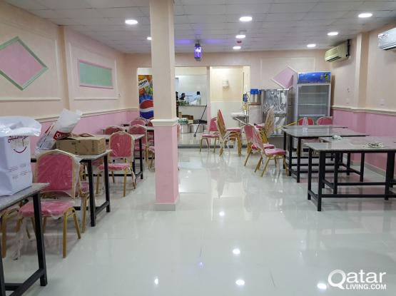 Restaurant for sale/doha al jadeda