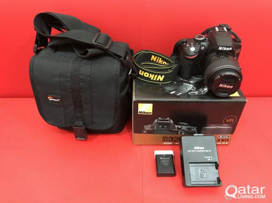 Nikon D3200 DSLR Camera for Sale