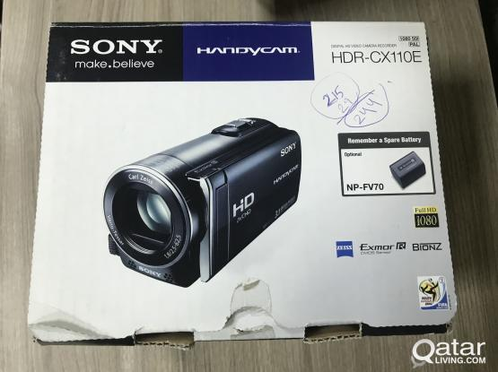 SONY HDR-CX110E handycam RED