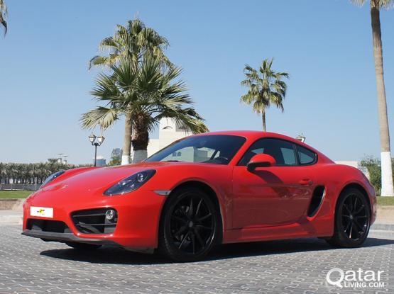 Porsche Cayman Standard 2015