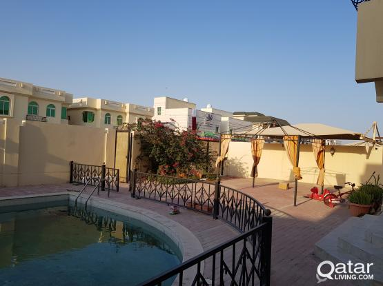 standalone villa with private swimming in Al Waab