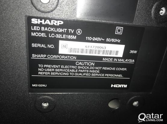 BRAND NEW SHARP LED TV 32
