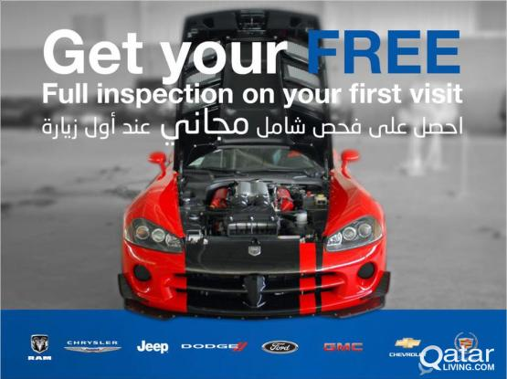 JEEP, DODGE, CHRYSLER, FORD, GMC, CHEVROLET, CADILLAC Services