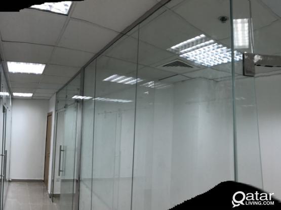 Ceiling partition