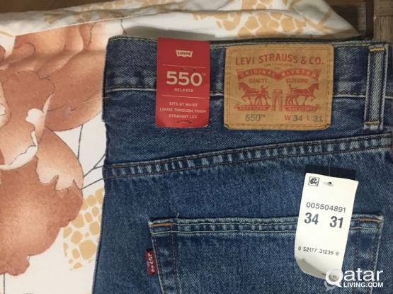 New Levi's 550 Men Size W34-L31