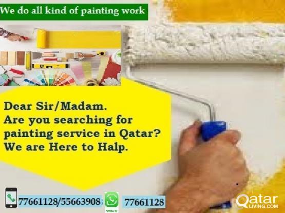 Painting Gypsum work
