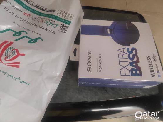 Neew Sony MDR-XB650BT wireless /NFS/Blue