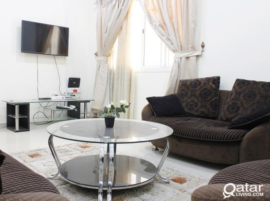 BRAND NEW 3BHK FLAT FOR BACHELORS IN HEART OF DOHA CLOSE TO ALL MAJOR BUSINESS AND MARKET PLACES