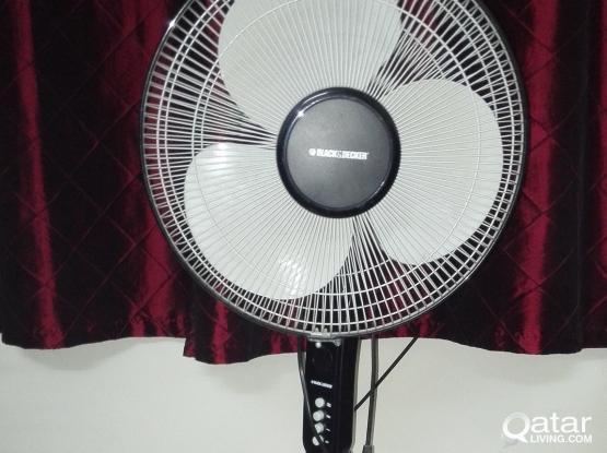 Standing Fan - Black & Decker - QR 120/-