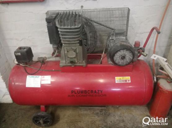3 PHASE AIR COMPRESSOR FOR SALE
