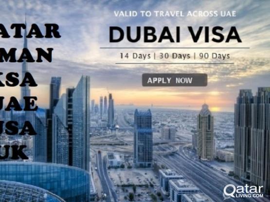 ###QATAT UAE OMAN USA UK VISIT VISA###