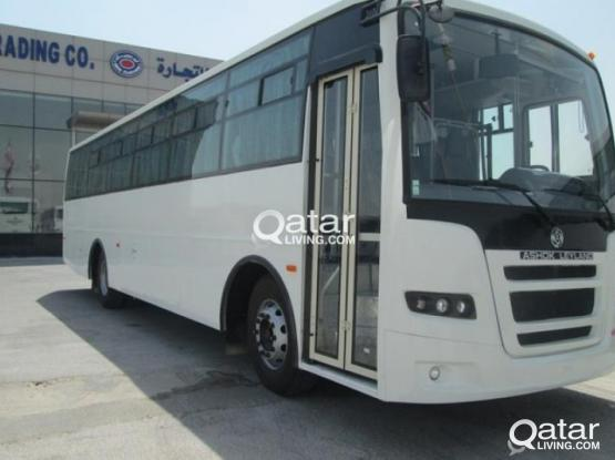 Available 66 seater bus for rent  with best fare