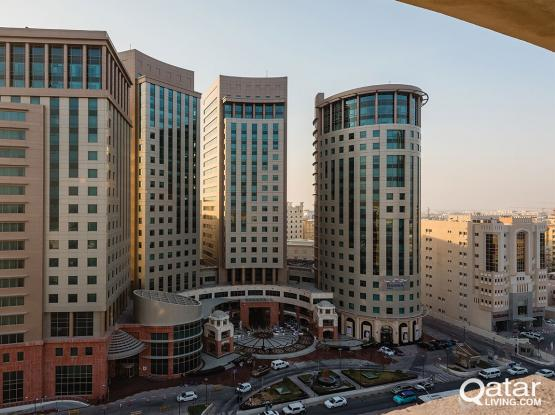 Fully Furnished offices starting from 3,500 Qr including all the services with municipality licence in Barwa Towers - Alsadd