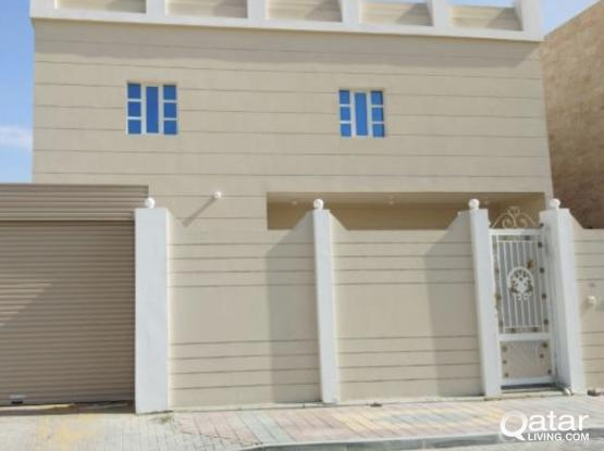 Brand New and Spacious One Bedroom villa apartment available at Al Thumama Behind Kahram - 5 units
