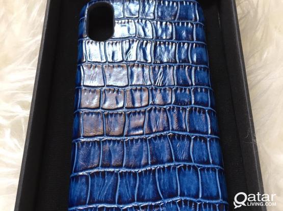 Genuine Leather iPhone X case