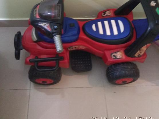 KIDS 4WHEEL MOTOR 2-6 YRS