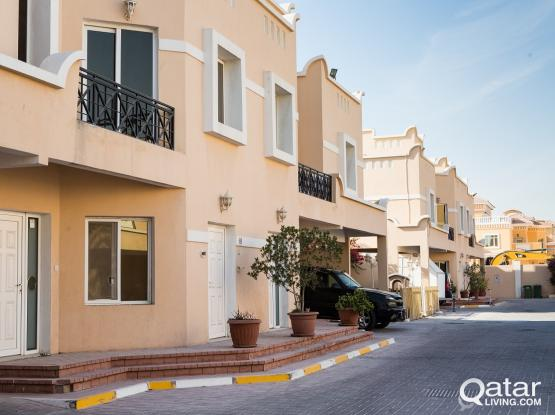 3BR semi furnished in compound, including utilities   Abu Hamour