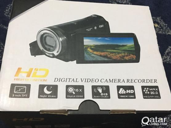(New) Video Camera with Night Vision