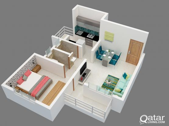 LOOKING SHORT TERM ONE MONTH - FF 1BHK or 2BHK