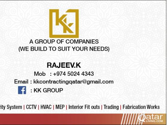 WE ARE TAKING FIRE FIGHTING, FIRE ALARM INSTALLATION,CIVIL, HVAC, ALUMINUM,CLADDING,ELECTRICAL WORK