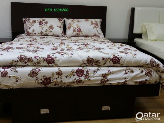 BED ROOM SET 160X200 BRAND NEW CONTACT:33280157