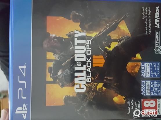 Play station 4- Black ops 4