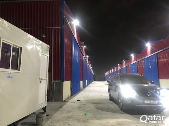 BRAND NEW Warehouse Sailiya (Free forklift) Electricity with charge(3-phase).