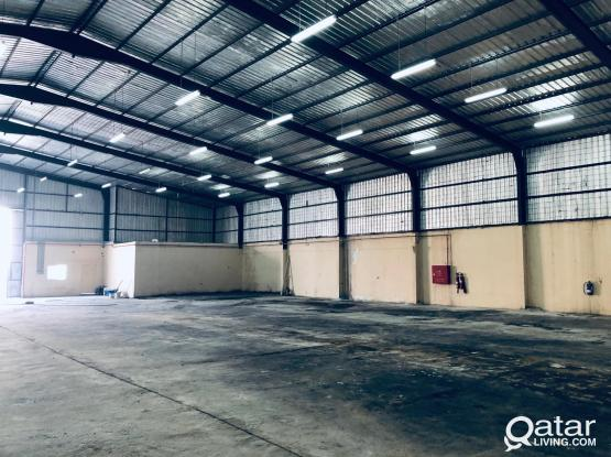 STORAGE 1300 m FOR RENT IN INDUSTRIAL AREA