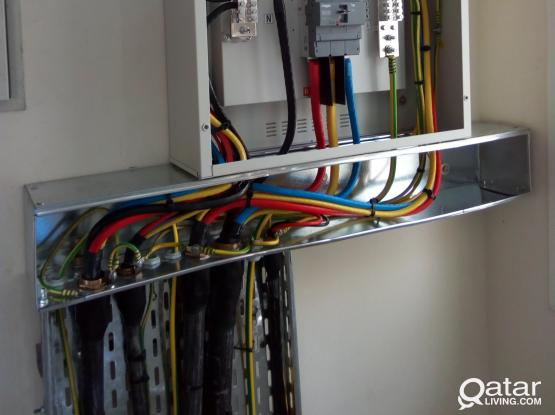 ELECTRICAL MAINTENANCE WORKS IN QATAR