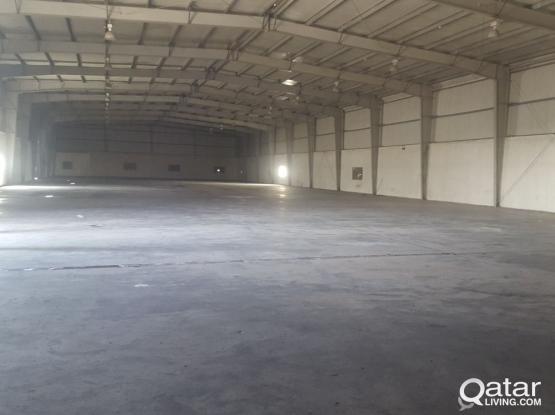 warehouses 6000 sq.m + 9700 sq.m open yard industriala area