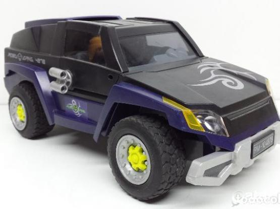 Playmobil Remote Car with real spy Camera