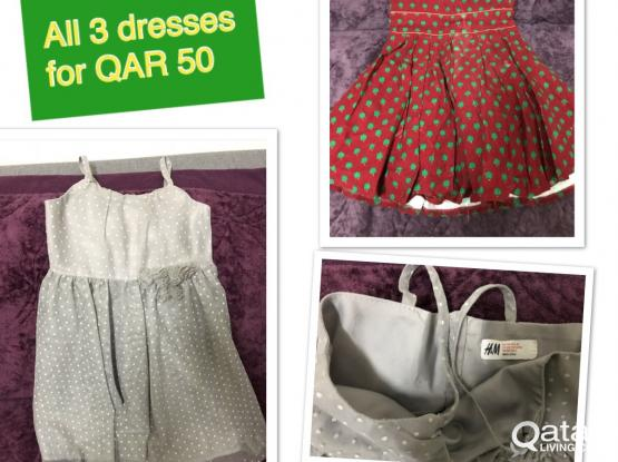 Used Clothes for 2-4 years old girls