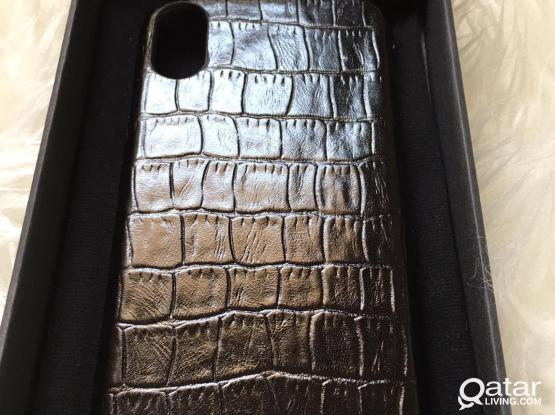 Genuine leather case for iPhone X and iPhone XS