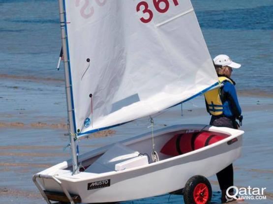 Optimist Sail Boat
