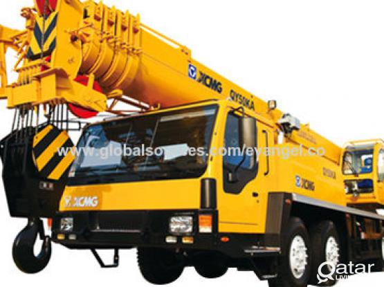 AVAILABLE 50 TON CRANE FOR LEASE/ RENT