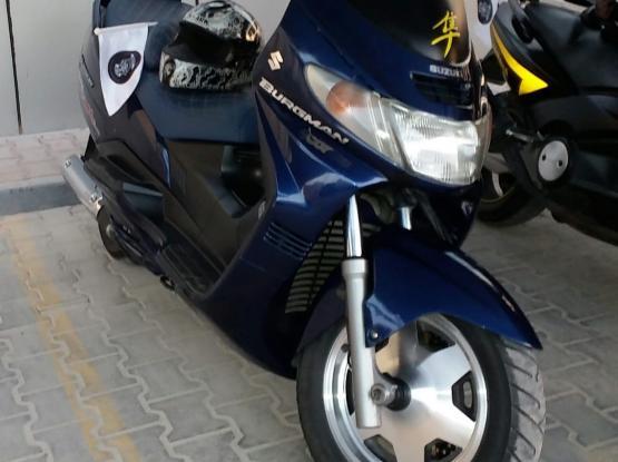 Suzuki Motorcycle 250 2003
