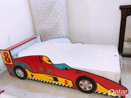 For sell car bed 190x90 with mattress