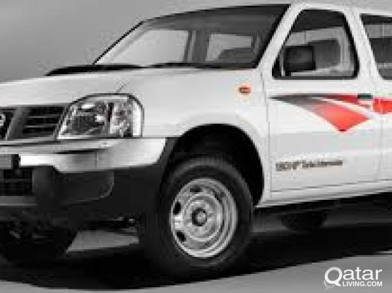 nissan double cabin pick up for rent2014-2015 model 74747598