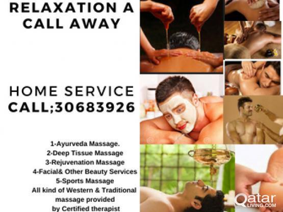 Ayurveda Massage-Home service