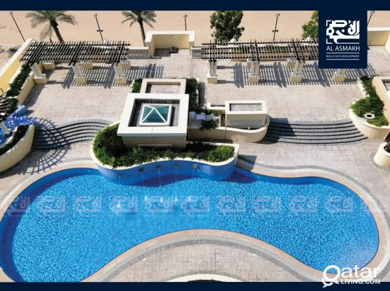 Semi furnished 1-Bedroom Apt In The Pearl (VB19)