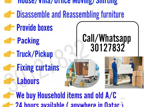 Movers And Packers.. Call/Whatsapp - 30127832